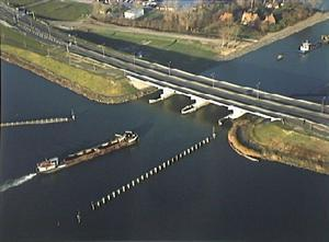 Featured Image: The aqueduct Veluwemeer is an aqueduct in the N302 near  Harderwijk, Netherlands which also forms the border between the provinces  of ...