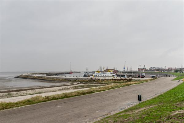 Havenmond haven Harlingen Waddenzee