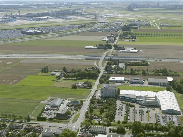 Luchtfoto 9 augustus 2016: project Omlegging A9 Badhoevedorp.