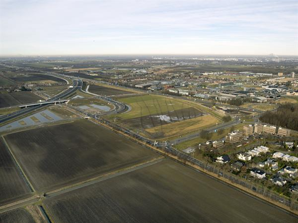 Luchtfoto project Omlegging A9 Badhoevedorp