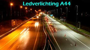Video-impressie ledverlichting A44.