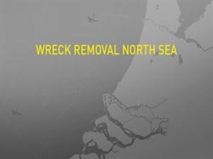 By partially removing the Jan Breydel wreck from the North Sea, the Dutch Seaports and shipping channels are made more accesible.