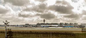 Luchthaven Schiphol. Panorama.