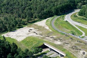Luchtfotoserie Wildviaduct.
