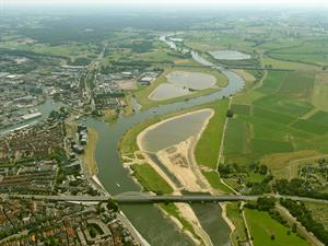 Luchtfoto Deventer.